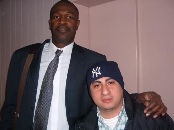 Herb Williams (Former New York Knicks Player) & DJ Quick At Madison Square Garden
