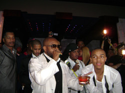 DJ Quick Djing In Las Vegas For Bow Wow's 21st B.D. With JD, Snoop, & Swiss Beats Pic 1
