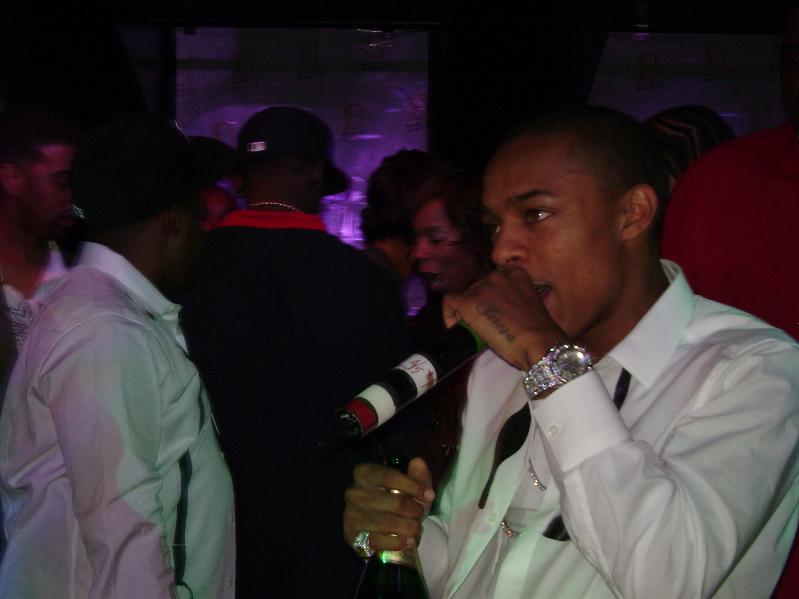 DJ Quick Djing In Las Vegas For Bow Wow's 21st B.D. Pic 2