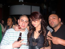 DJ Quick & Nicole (NINA SKY) In NYC