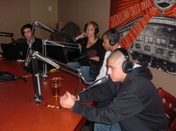 DJ Quick ESPN & ABC World News Interview NYC 02-08 Pic 2