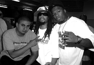 DJ Quick, Lil Jon, & 50 Cent In Chicago ( Picture Phone Pic)