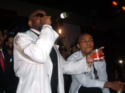 DJ Quick Djing In Las Vegas For Bow Wow's 21st B.D. With JD, Snoop, & Swiss Beats Pic 4