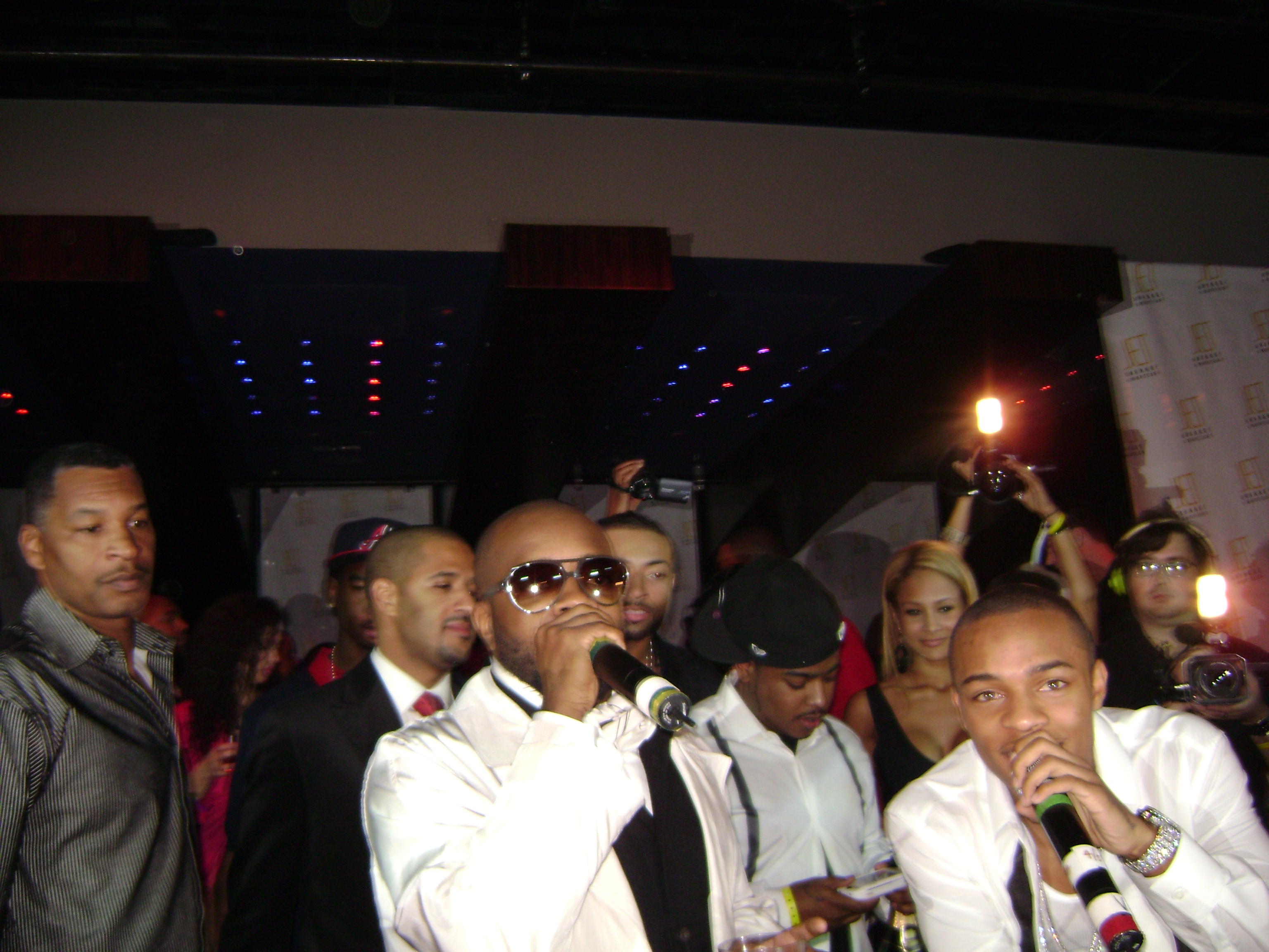DJ Quick Djing In Las Vegas For Bow Wow's 21st B.D. With JD, Snoop, & Swiss Beats Pic 2