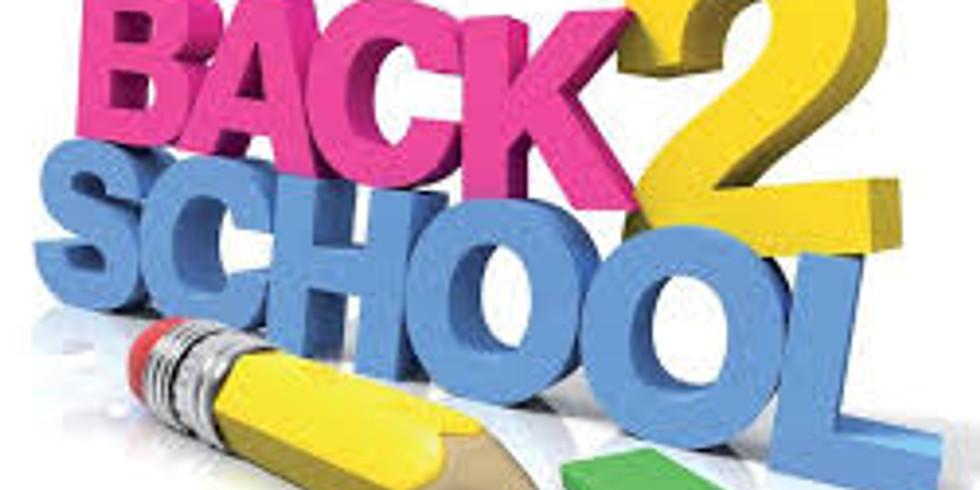 Back to School Giveaway & Health & Wellness Fair