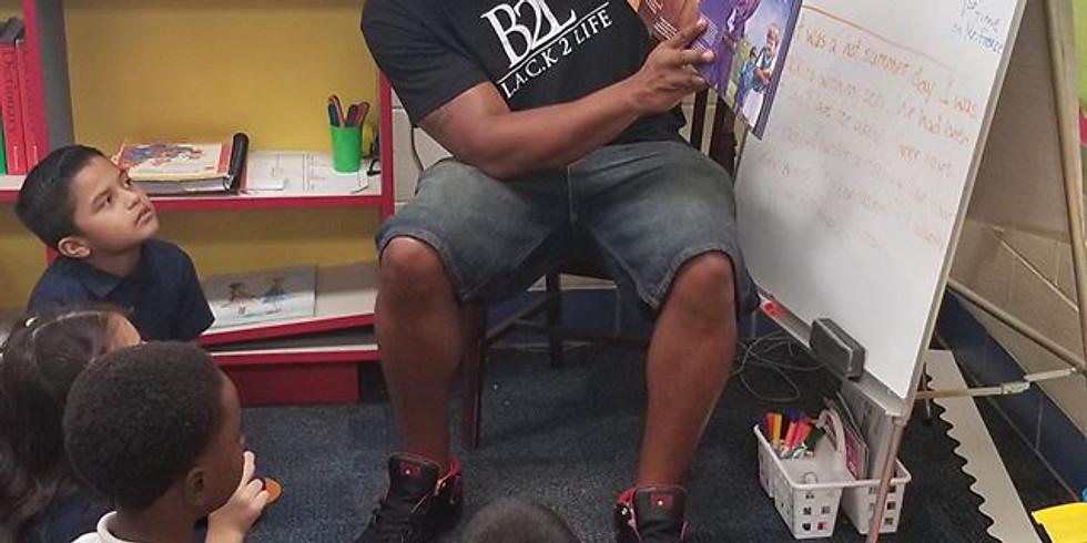 B2L hosting #100BlackMenRead on #Giving Tuesday, 100+ Black Men Reading to Kids
