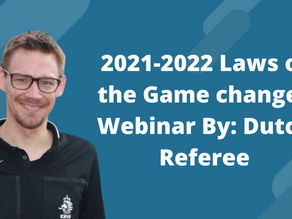 2021-2022 Laws of the Game changes Webinar