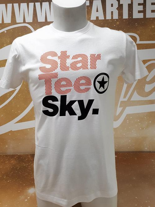 T-shirt men Startee SKY.W orange.noir