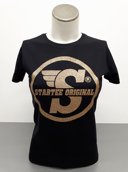 T-shirt women Startee ORIGINAL strass OR