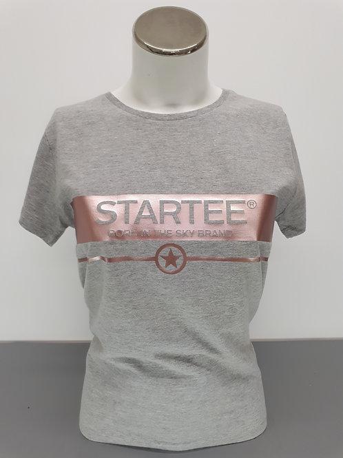 T-shirt women Startee Banderose gold