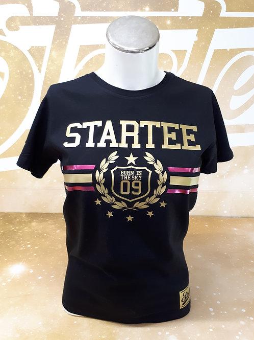 T-shirt women Startee Laurier.B.or.rose