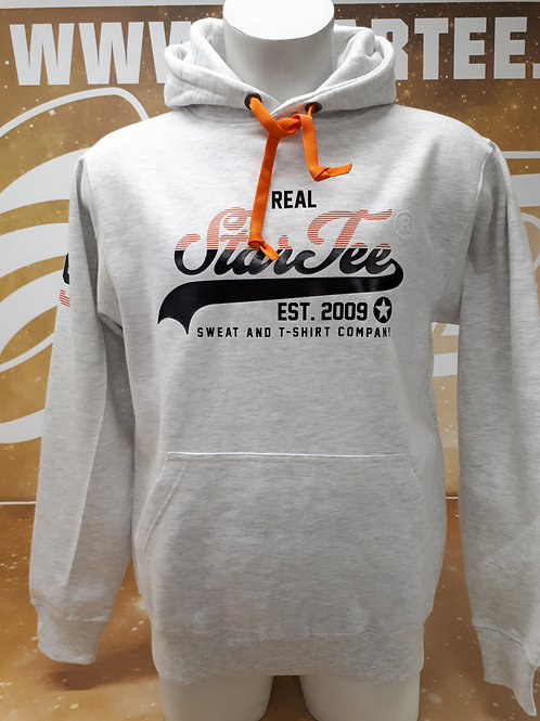 Hoodie men Startee REAL.G.orange.noir