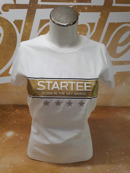 T-shirt women Startee 4étoiles.W.or.noir