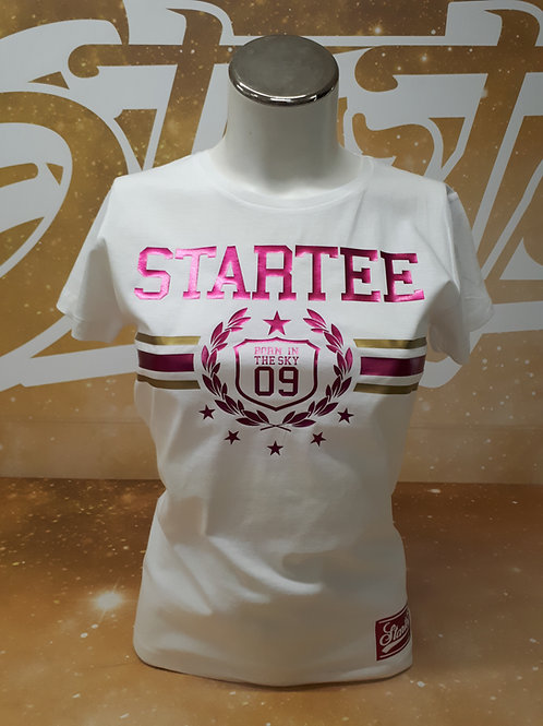 T-shirt women Startee Laurier.W.rose.or