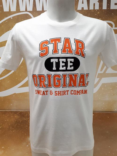T-shirt men Startee TEE.W orange.black