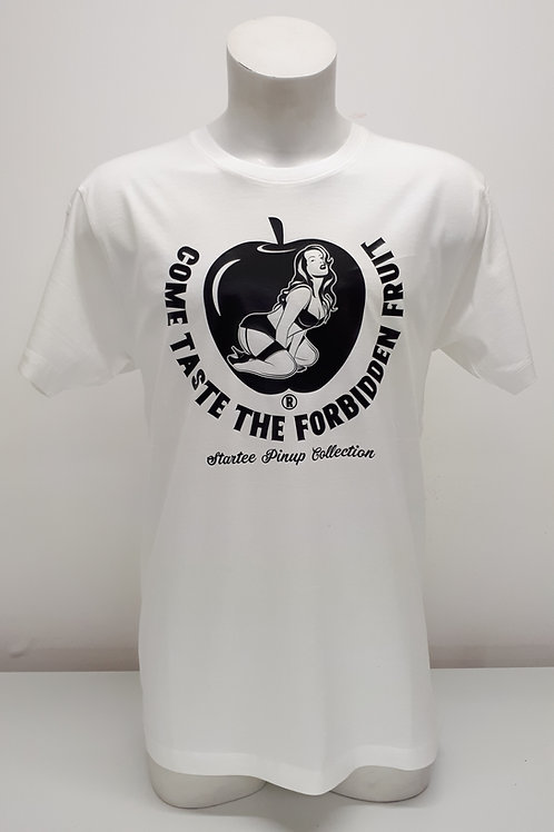 "T-shirt Men Startee ""PinUp Apple"".w."