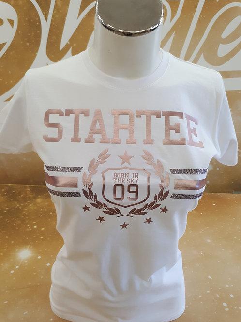 T-shirt women Startee Laurier Gold