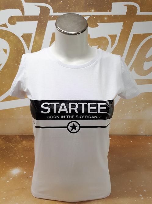 T-shirt women Startee BandeR.W.noir