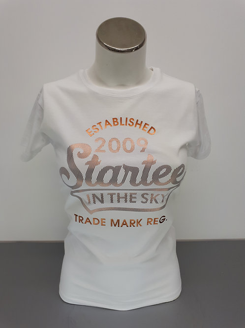 T-shirt women Startee 2009.cuivre