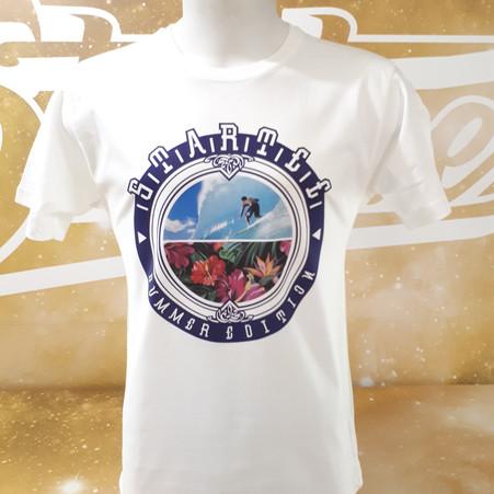 T-shirt Surfer-fleur