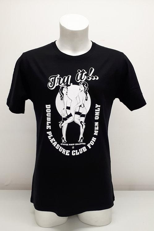 "T-shirt Men Startee ""PinUp Two Womens"".b."