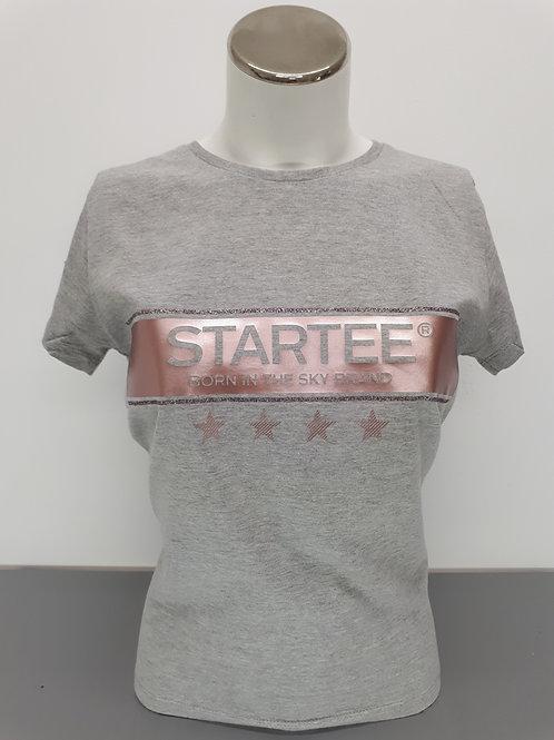 T-shirt women Startee 4étoiles rose gold