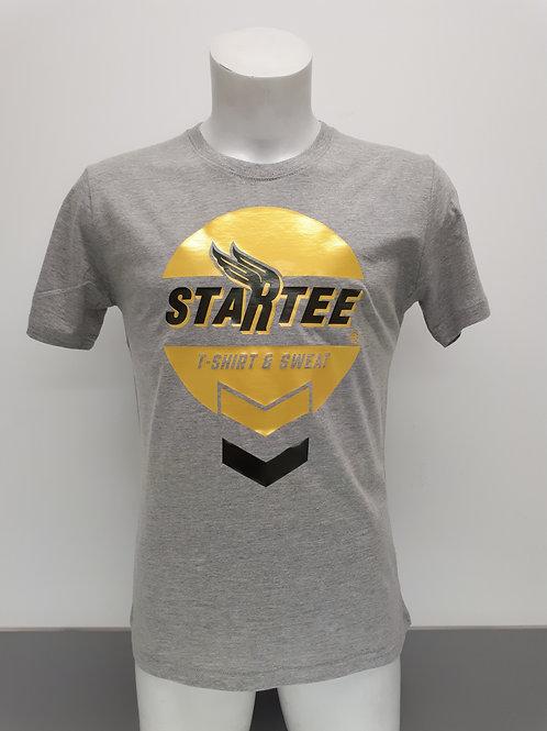 T-shirt men Startee Motor.G.vert.jaune