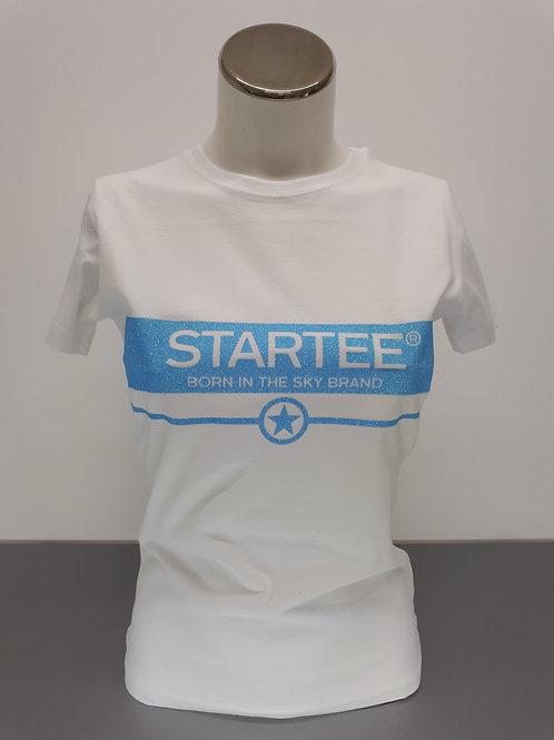 T-shirt women Startee Bande ciel strass