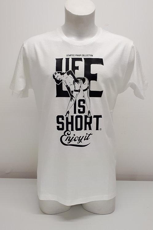 """T-shirt Men Startee """"PinUp Life"""".w"""