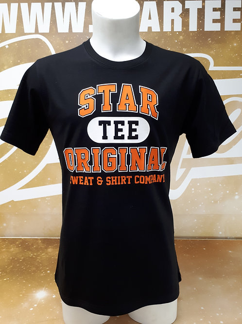 T-shirt men Startee TEE.B orange.blanc