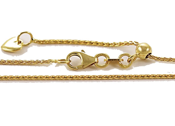Adjustable Spiga Chain