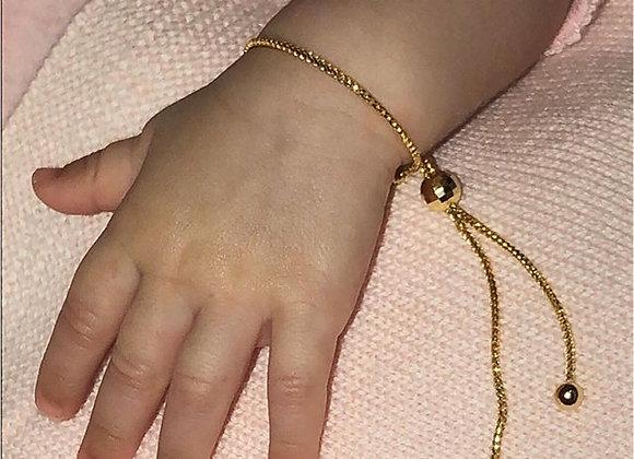 """Estelle"" Lariat Baby Bracelet"