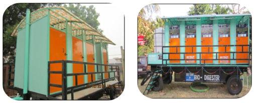 mobile biotoilet wockhardt foundation NGO