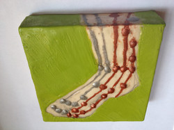 Chartreuse Foot