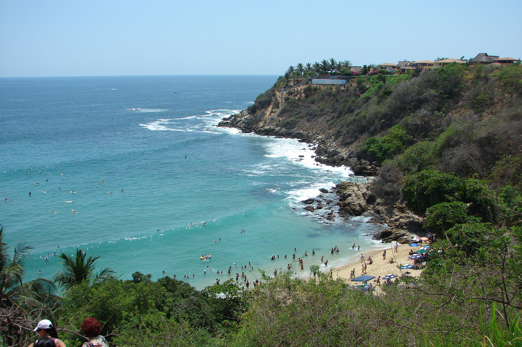 Playa Carizalillo.