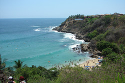 Playa Carizalillo.