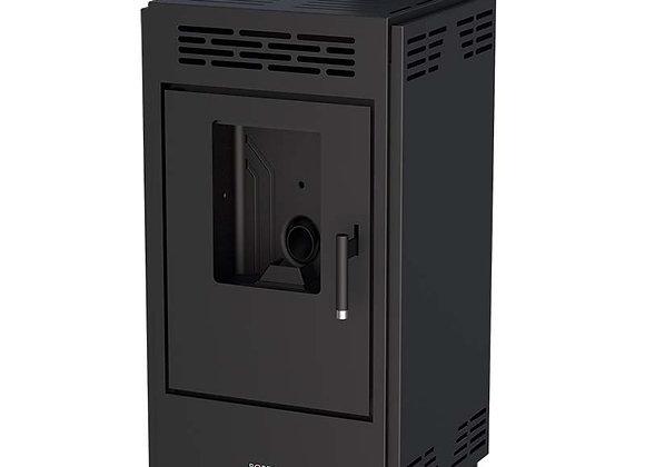 Poêle à granulés 9kW Boreal 9 - CE17933 avec jeu de côtés noirs