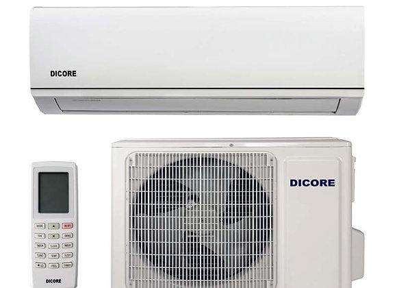 Climatiseur réversible Dicore 3.5 kW gaz R32