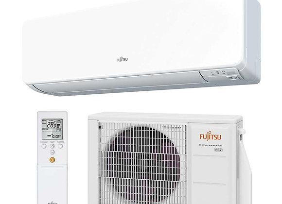 Climatiseur réversible Fujitsu ASY 25 UI-KG gaz R32 2.5 kW