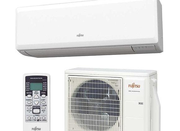 Climatiseur réversible Fujitsu ASY 35 UI-KP gaz R32 3.5 kW