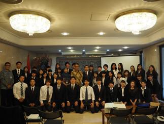 インドネシア共和国大使館を訪問し大使と懇談を行いました