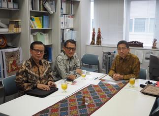 インドネシア共和国のアリフィン駐日特命全権大使が研究室を訪問されました