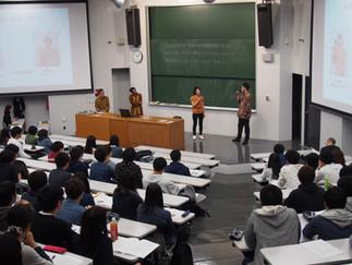 加藤ゼミの学生がインドネシア語を披露しました