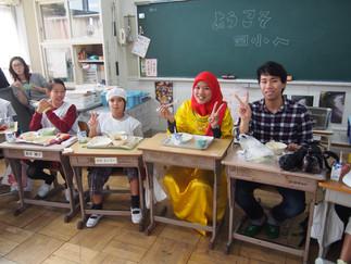 加藤ゼミの学生が民間大使プログラムのボランティアに参加しました。