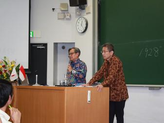 インドネシア共和国大使館のモハンマド・アバス・リドゥワン公使参事官を中央大学にお招きしました。