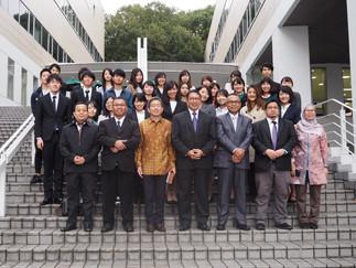 インドネシア共和国宗教大臣と加藤ゼミでの昼食会を行いました