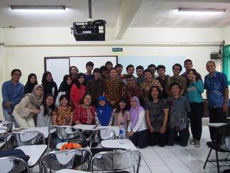 加藤教授がインドネシア国内の3大学で講演を行いました。