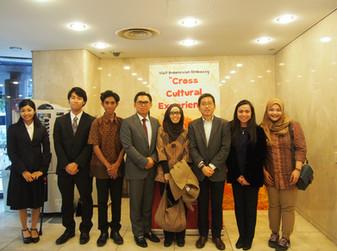 加藤教授が在日本インドネシア大使館を訪問しました。