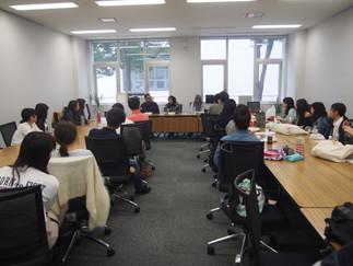 加藤ゼミとインドネシア大学大学院生との研究発表会を実施しました。