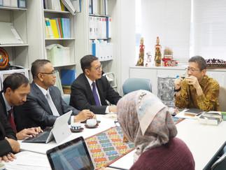 インドネシア共和国宗教大臣が加藤研究室を訪問